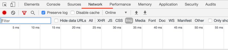 Chrome DevTools - Network